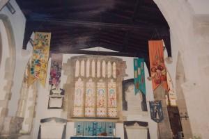 All Saints Newland interior