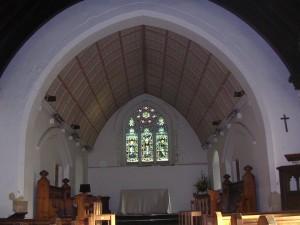 St Saviours Redbrook interior